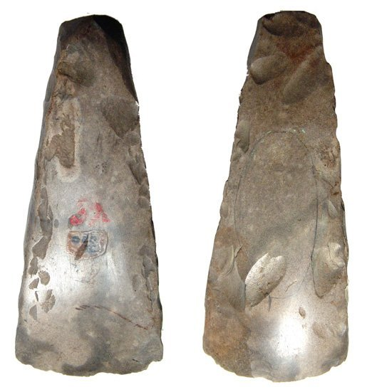 9: A Nice Flint Axe From Neolithic Denmark, Ex. Layton