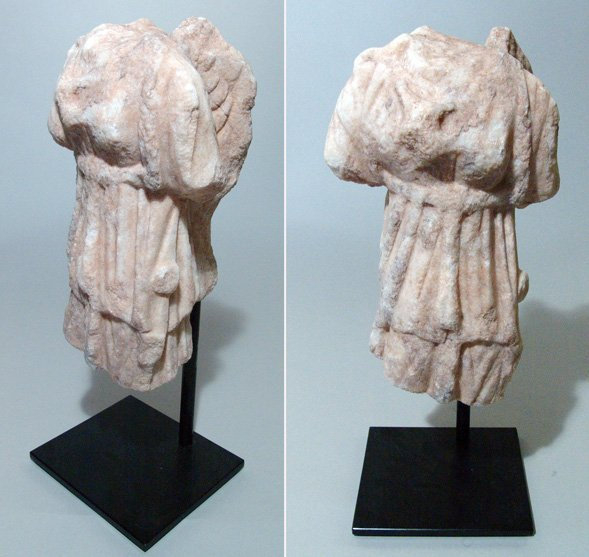516:  Roman, c. 1 st – 3 rd Century AD. A carved pale w