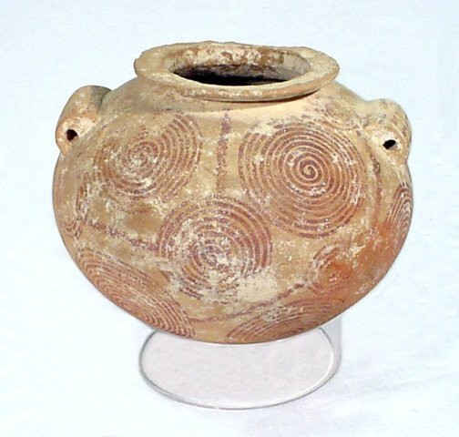 1: Predynastic Spiral Storage Jar