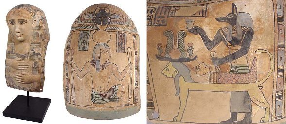 61: Choice Ptolemaic Cartonnage Mask
