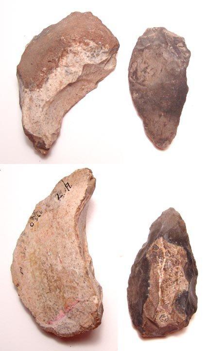 4:  Mousterian Tradition, c.120,000 years B. P. Scraper