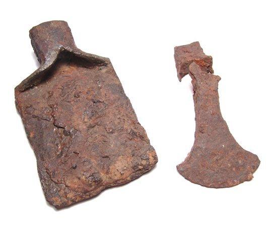 21:  Roman Egypt, 1st - 2nd Century AD. An iron agricul