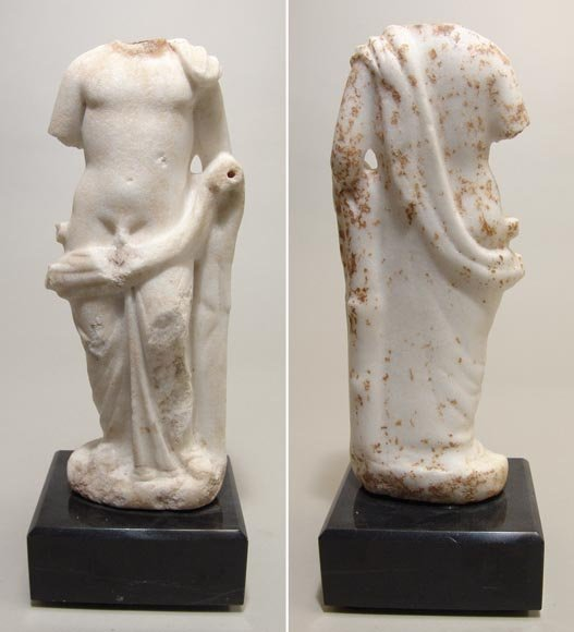 180:  Rome, c. 1st century AD. A marble carving of a yo