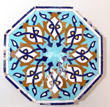 278:  Iran, Late Timurid tile, c. 15th Century. A beaut