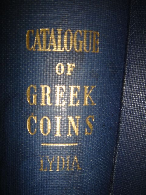 515: Greek Coins in the British Museum, LYDIA. 1963. Ha