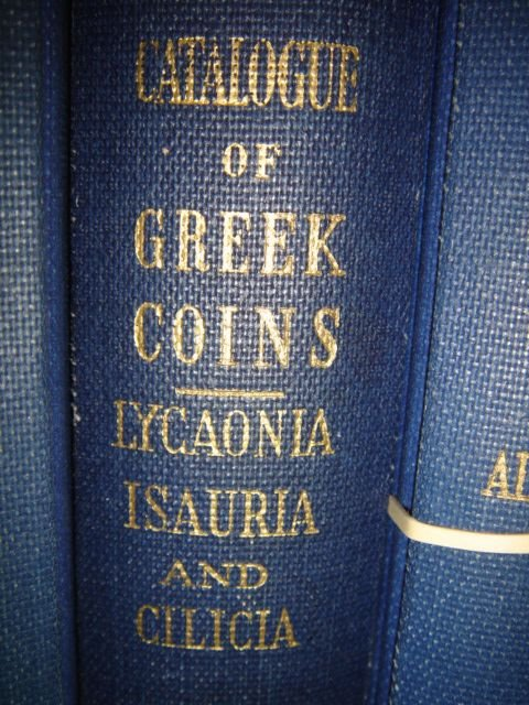 518: Greek Coins in the British Museum, LYCAONIA, ISAUR
