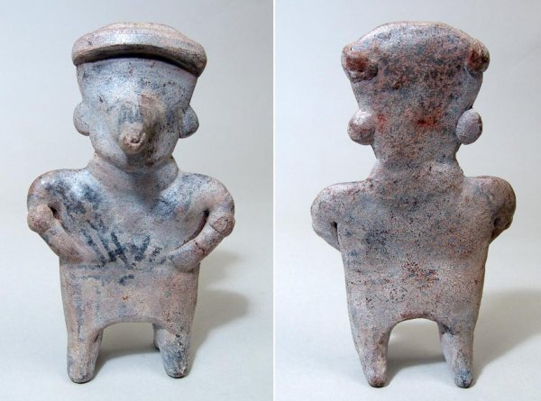 10: West Mexico, Nayarit, a nice standing male figure w
