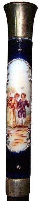 12: England, Victorian Period, Sevres porcelain scene d