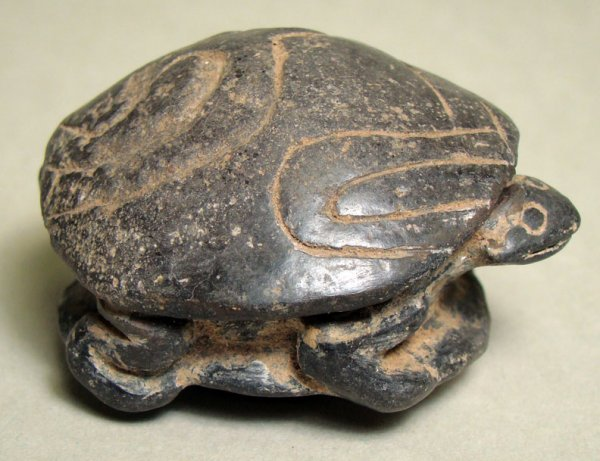2: Choice Colima Blackware Turtle. Ex JLM Coll