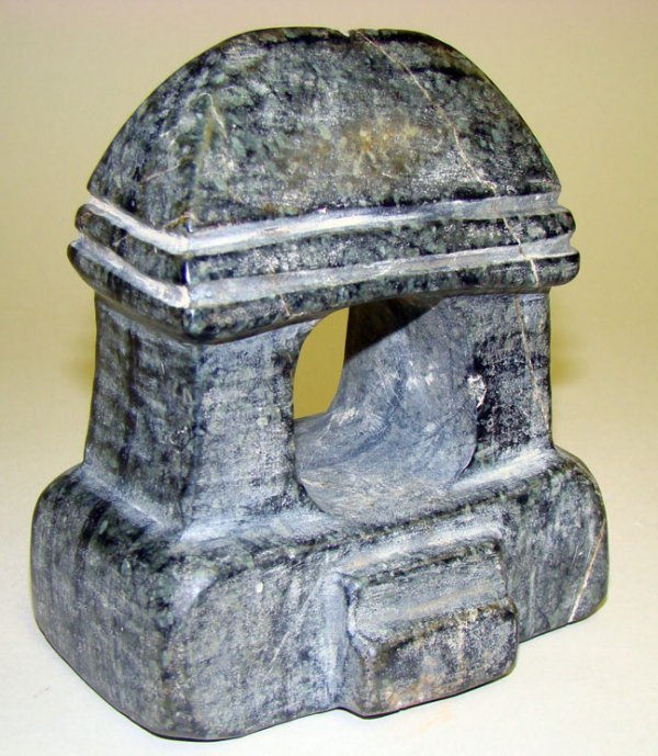 6: Mexico, Mezcala, Rare Stone Temple Model