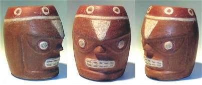 31: Tiahuanaco-Huari, A Ceramic Head of Death. Mean!
