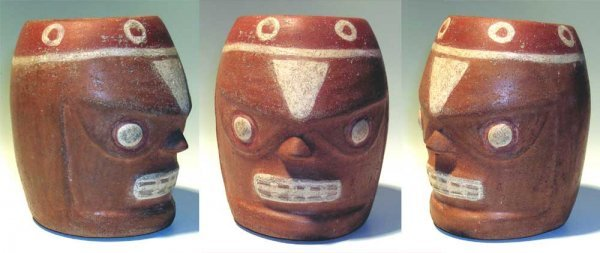 31: Tiahuanaco-Huari, A Ceramic Head of Death. Mean!