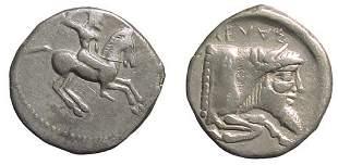 Gela. 490/485 - 480/475 BC. AR Didrachm. 8.27g. N