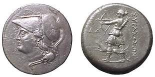 The Syracusan Democracy. 214 - 212 BC. AR 12 Litra