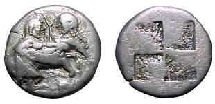 Macedonian Tribes, The Orescii. C.510 – 480 BC. AR