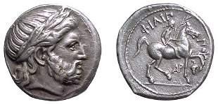 Kings of Macedon, Philip II. 359 – 336 BC. AR Tetr