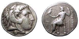 -, Alexander the Great. 336 – 323 BC. AR Tetradrac
