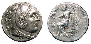 -, -, AR Tetradrachm, c.280 – 275 BC. Amphipolis?