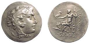 -, -, AR Tetradrachm, c.190 – 165 BC. Chios, Ionia