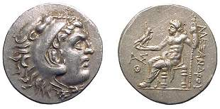 -, -, AR Tetradrachm, c.204 – 203 BC. Aspendus, Pa