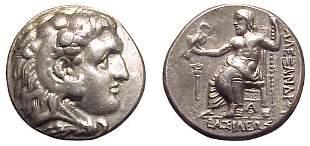 -, -, AR Tetradrachm, c.323 – 316 BC. Arados