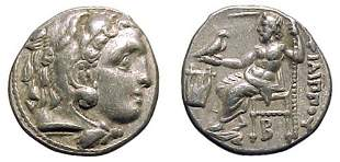 -, Philip III. 323 - 317 BC. AR Drachm of 319 – 31