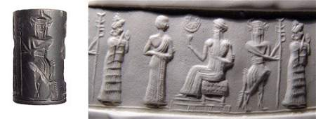 934: Old Babylonia, c.1900 – 1800 BC. A fine hematite c