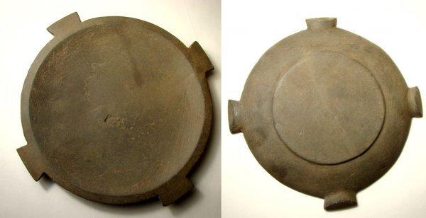 501: Egypt, Pre-Dynastic. Gray schist cosmetic palette
