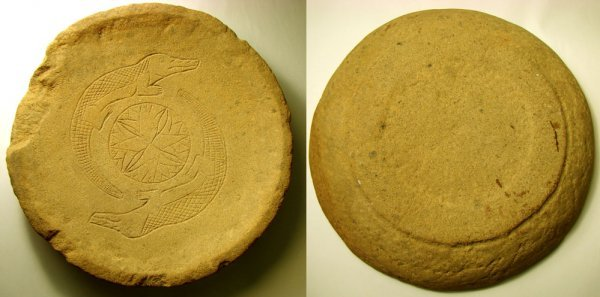 502: Pre-Dynastic Sandstone Plate-- Extremely rare!!!