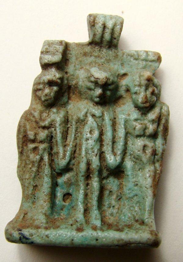 503: Egypt, Dynasty XXVI, A wonderful faience amulet