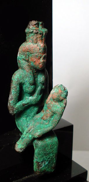 5: Late Period, A Seated Figure of Goddess Isis