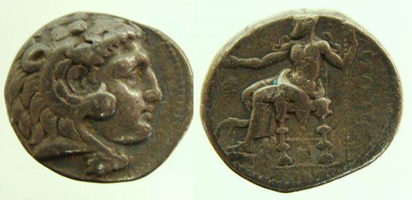 24: Kings of Syria, Seleucus I Nicator. 312–281 B.C. AR