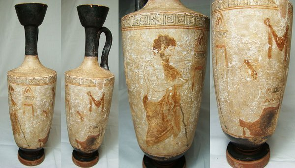 207: Attic, c. 6th-5th century BC., a top quality tall