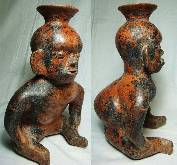 370: West Mexico, Colima, c. 250 BC-250 AD. A fantastic