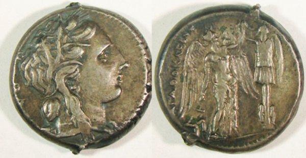 11: Syracuse, Agathocles. c. 317–289 B.C. AR Tetradrach