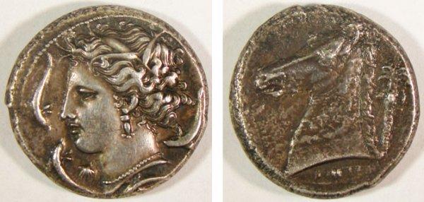 13: Machanat. c. 320–310 B.C. AR Tetradrachm (16.43g).