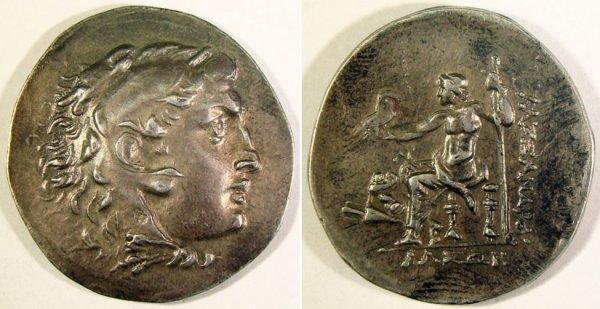 19: Alexander the Great. 336–323 B.C. AR Tetradrachm (1