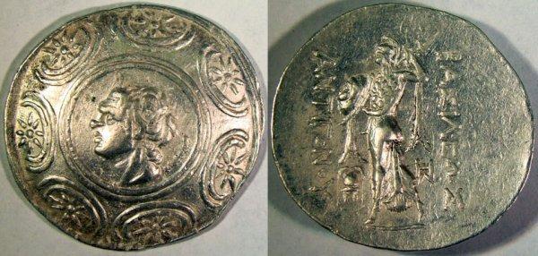 24: Antigonus Gonatas. 277–239 B.C. AR Tetradrachm (16.