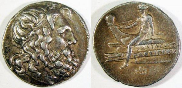 25: Antigonus Doson. 229–221 B.C. AR Tetradrachm (16.95