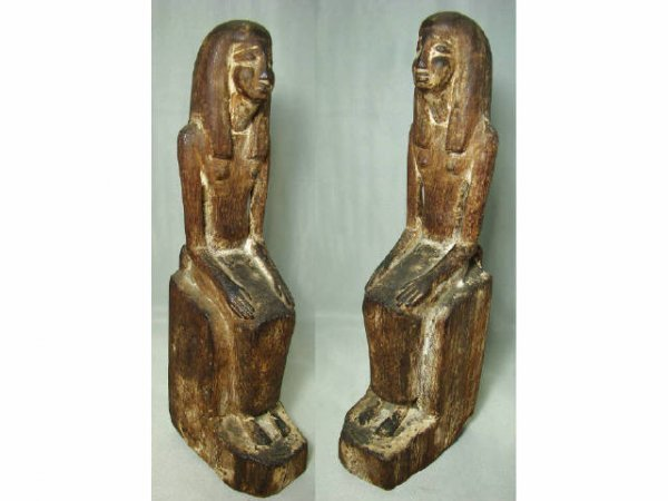 5: Egypt, New Kingdom, 1539-1075BC., a finely carved wo