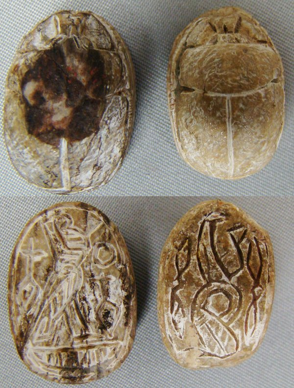 6: Egypt, New Kingdom, 1539-1075BC., a lot of 2 very ni