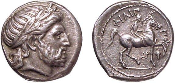 7: Philip II. 359 – 336 BC. AR Tetradrachm, 323 – 315 B