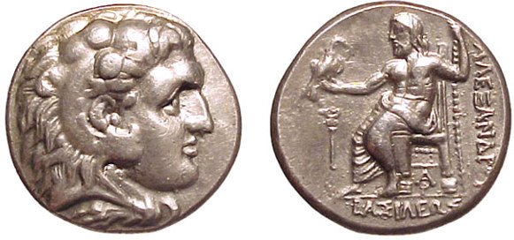 16: Alexander the Great. 336 – 323 BC. AR Tetradrachm,
