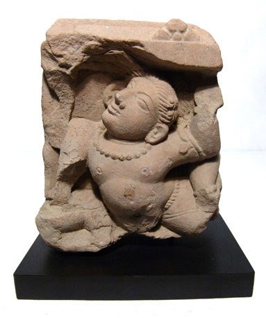 274: India, Ghandhara, 2nd-3rd century AD. Dancing Male