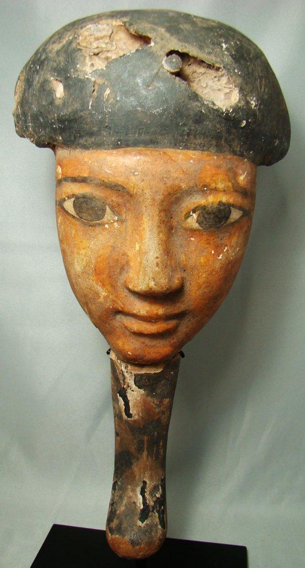 5: Egypt, Middle Kingdom, a fabulous coffin mask!!!