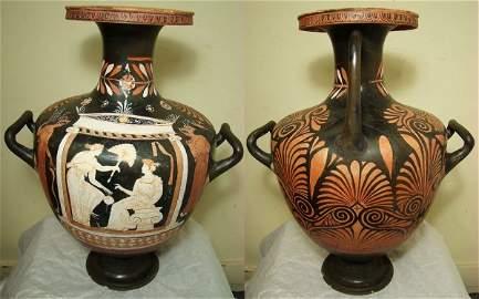"96: Roman, Apulia, A Stunningly Beautiful tall ""hydria"""