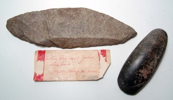 5: Pre-Dynastic Egypt, 2 large stone tools