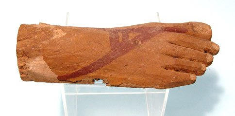 7: Egypt, Late Period, after 650BC, a nicely carved and