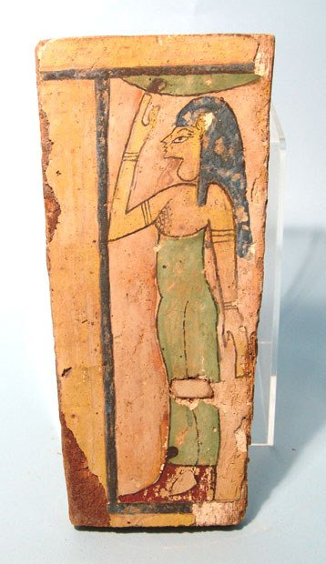 9: Egypt, Late Period, after 650BC, a painted wooden co