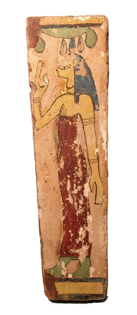 10: Egypt, Late Period, after 650BC, a painted wooden c